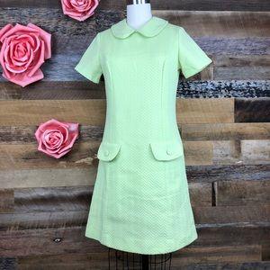 Dresses & Skirts - Vintage 1970s green dress